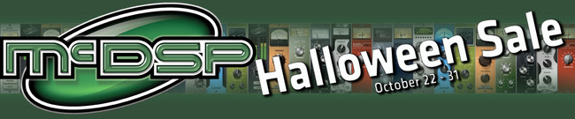 McDSP - AES Show Special Deal