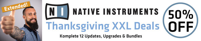 Native Instruments - Thanksgiving XXL Deals