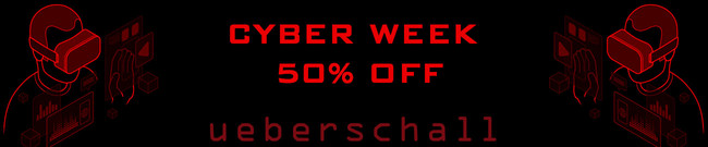 Ueberschall Black Friday Sale 50% OFF