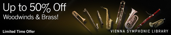 VSL - Up to 50% Off Woodwinds and Brass