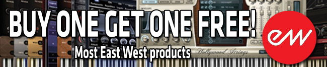 Banner East West Buy One Get One Free