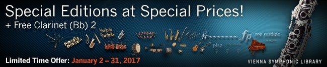 Banner VSL Special Editions at special prices