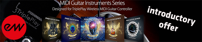 Banner East West Midi Guitar Series Introductory Offer