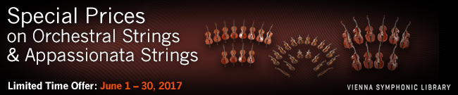 Banner Special Prices on Orchestral- and Appassionata Strings