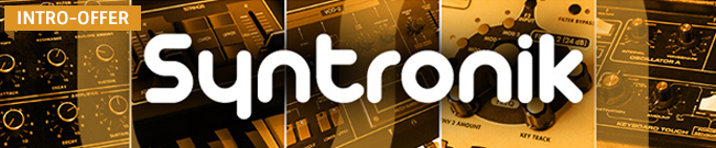 Banner Syntronik Introductory Offer