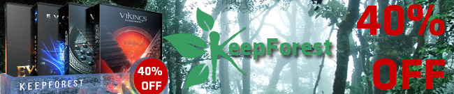 Banner Keepforest 40% OFF