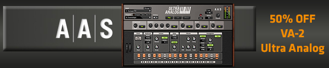 Banner AAS Ultra Analog VA-2 50% OFF