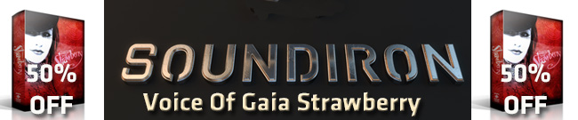 Banner Soundiron Voice of Gaia Strawberry 50% OFF