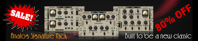 Banner Nomad Factory - Analog Signature Pack SALE