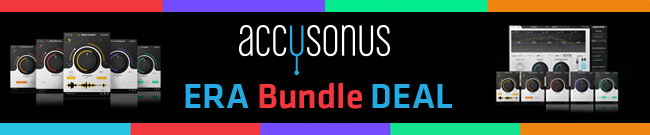 Banner accusonus ERA Bundle Deal