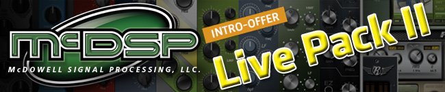 Banner McDSP Live Pack II Intro-Offer