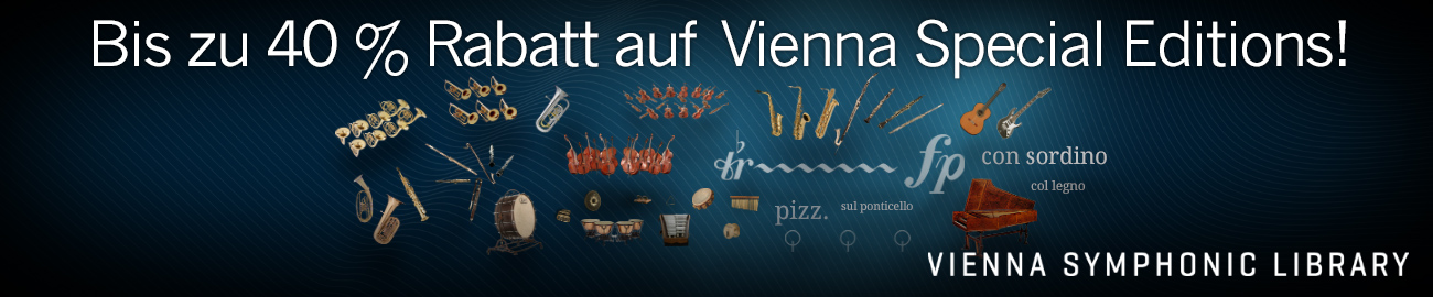 Banner Up to 40% Off Vienna Special Editions