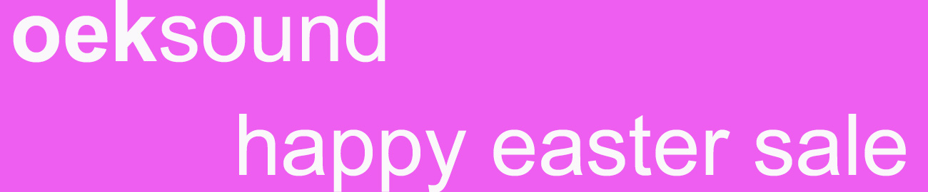 Banner oeksound - happy easter sale