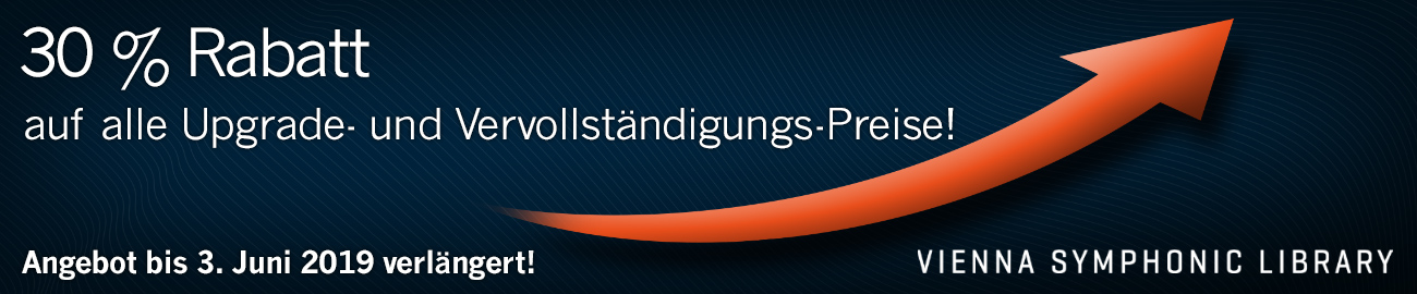 Banner VSL 30% Upgrade- und Complementary Prices