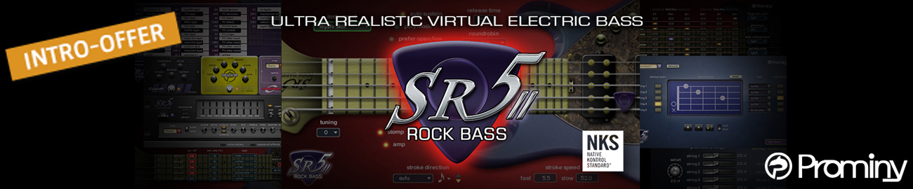 Banner Prominy - SR5 Rock Bass 2 - Intro Offer