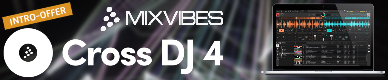 Banner Mixvibes - Cross DJ Intro Offer