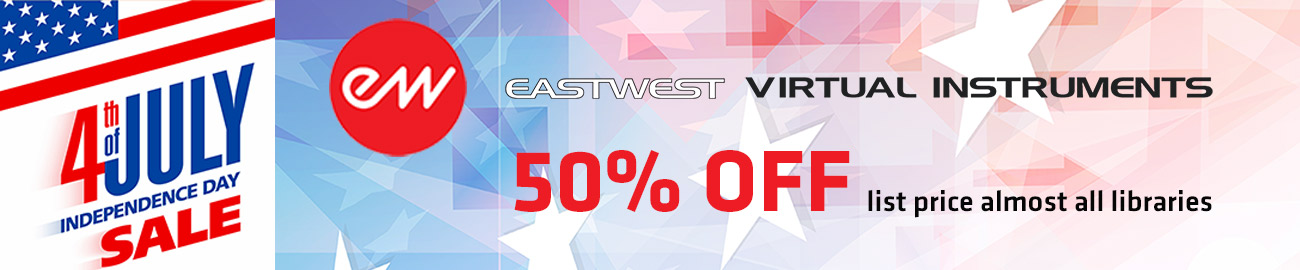 Banner East West Independence Day  Sale 50% OFF