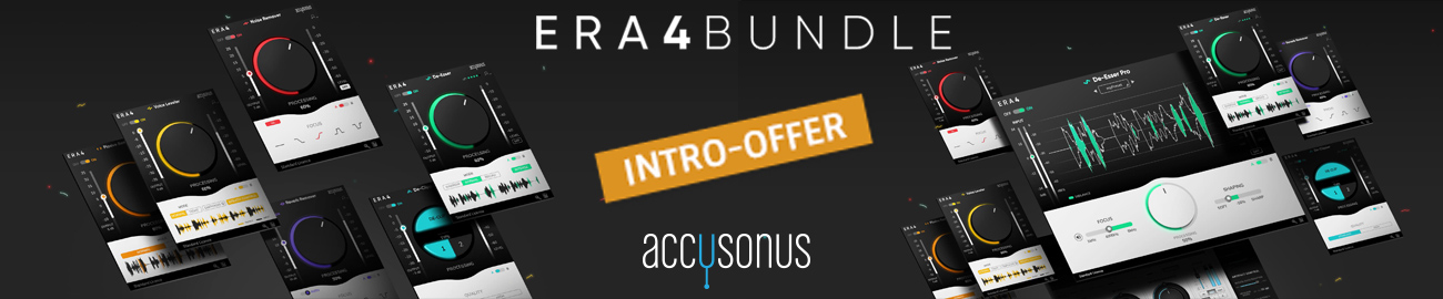 Banner accusonus ERA 4 Bundle Intro Offer