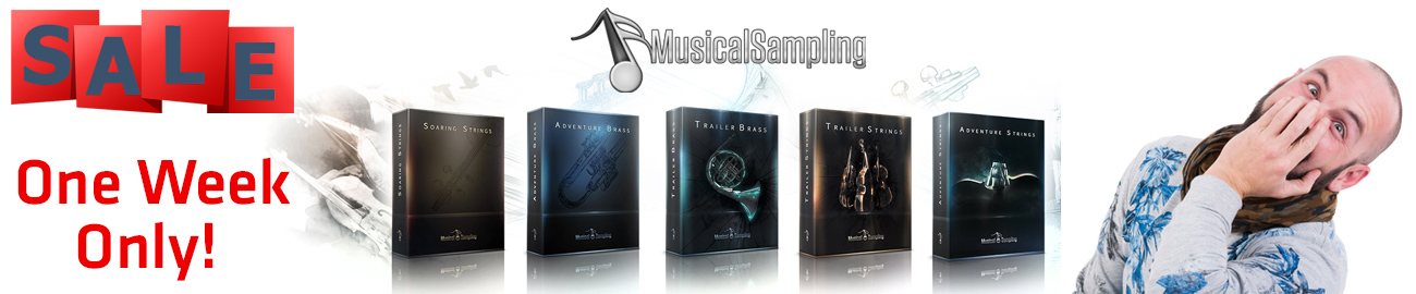 Banner Musical Sampling - One Week Sale