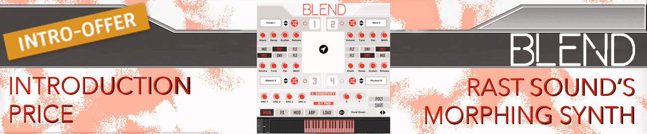 Banner Rast Sound - Blend Intro Offer
