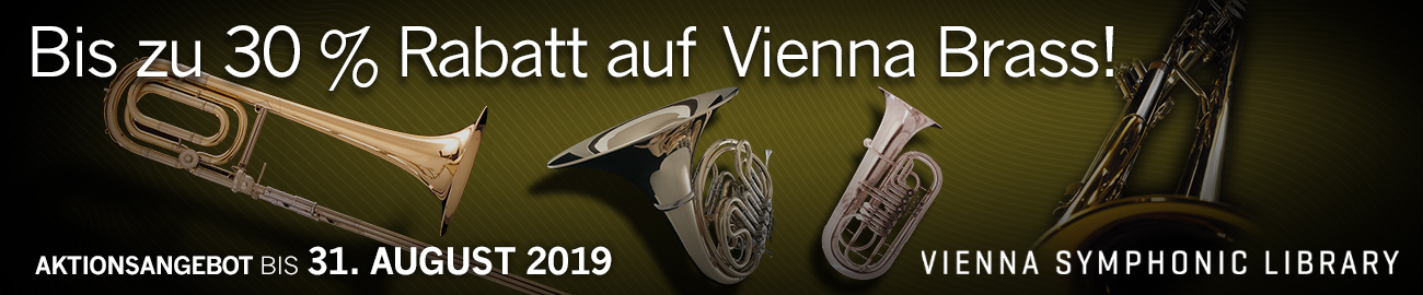 Banner VSL - Up to 30% Off all Vienna Brass