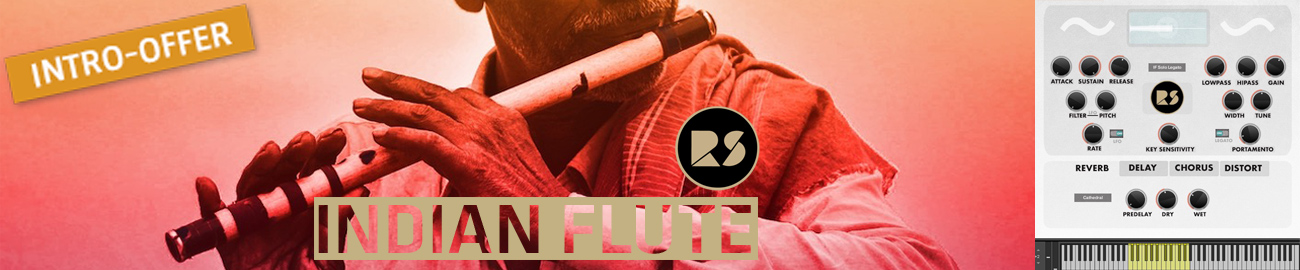 Banner Rast Sound - Indian Flute Intro Offer