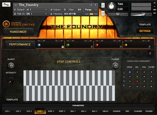 The Foundry Stepmode