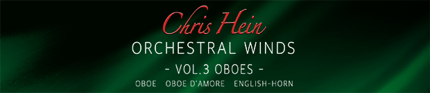 CHW Vol. 3 Oboes banner