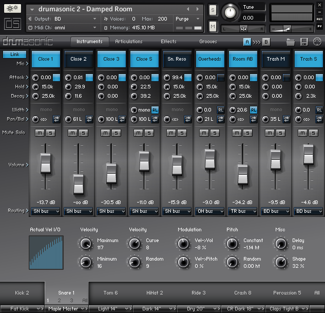 drumasonic 2 interface
