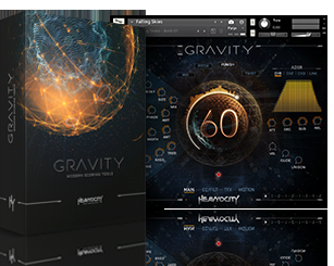 GRAVITY screen and pack