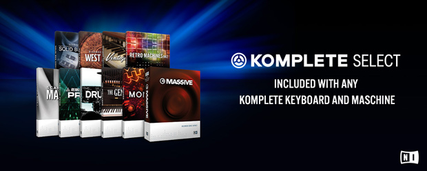 Komplete Select included