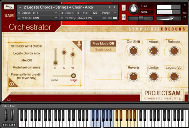 Orchestrator Interface 1 DE