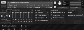 chamber strings 3 general controls GUI