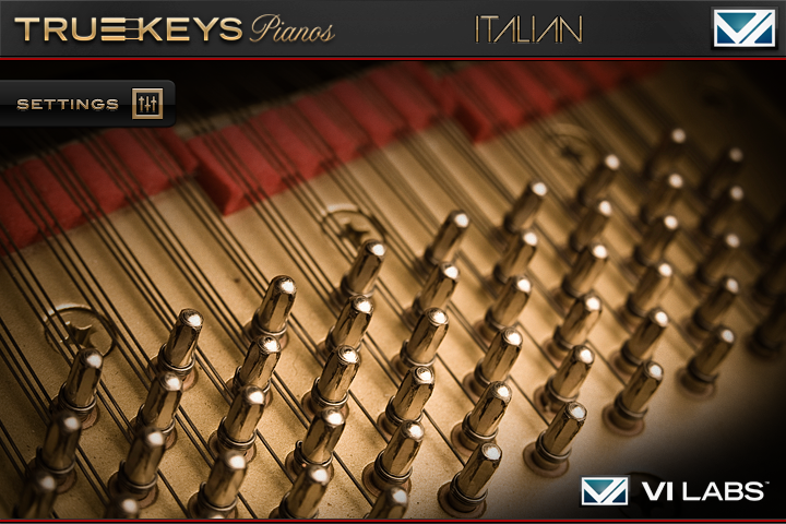 True Keys Italian Screen