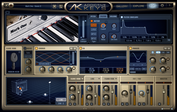Addictive Keys Engine Mark One