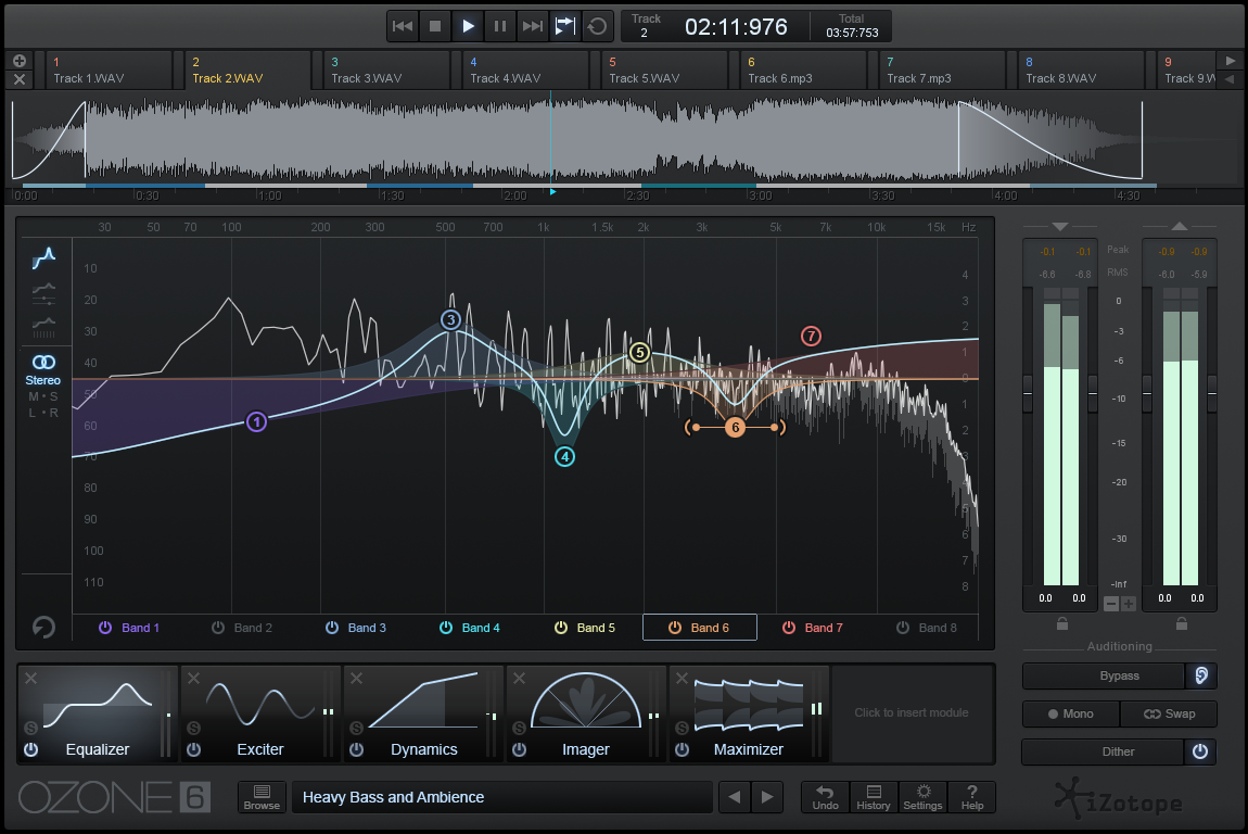 EQ Screen
