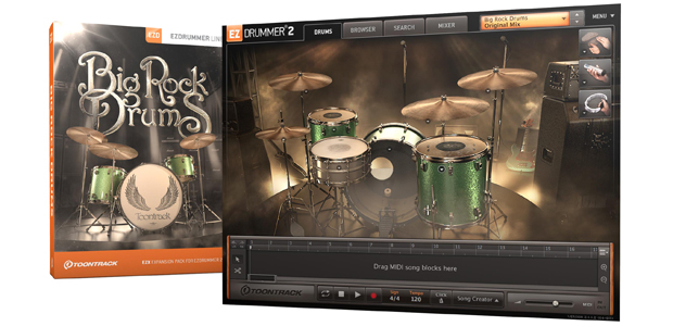 Big Rock Drums Box and GUI