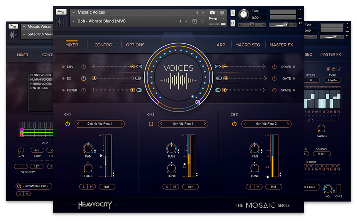 Mosaic Voices GUI