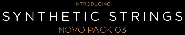 Synthetic Strings Novo Pack Header